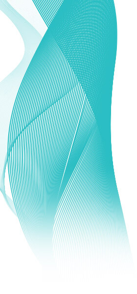 Teal Abstract Design 2