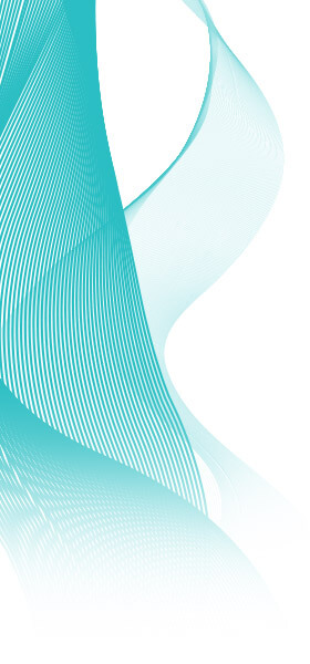 Teal Abstract Design 4