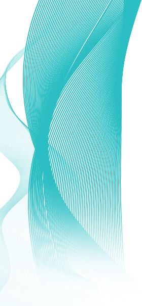 Teal Abstract Design 5