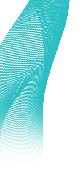 Teal Abstract Design 3